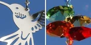 Crystal Fantasy Suncatcher Hummingbird